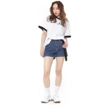 Tシャツ - SPINNS KANGOL(カンゴール)リンガーTシャツ