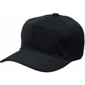 エスエスケイ(SSK) 角ツバ6方型ベースボールキャップ BC062 ブラック 【野球 帽子】