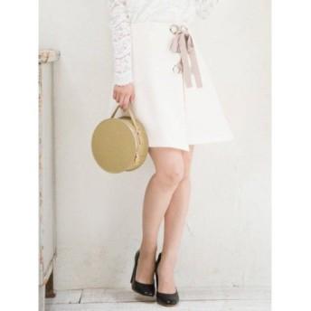 (MERCURYDUO/マーキュリーデュオ)ブッチャーレースUPミニスカート/レディース オフホワイト