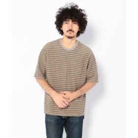 (UNCUT BOUND/アンカットバウンド)niche.(ニッチ) Comodo mix ボーダー Tシャツ/メンズ OTHER 送料無料