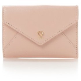 (Samantha Thavasa Petit Choice/サマンサタバサプチチョイス)パールハートラブレターミニ財布/レディース ピンク