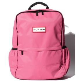 (HUNTER/ハンター)ORIGINAL NYLON BACKPACK/ユニセックス ピンク系