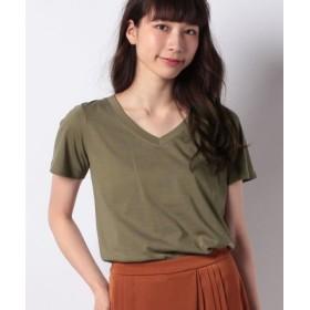 (FEMIND TOKYO/フェマイントウキョウ)18 ベーシックオーガニックTシャツ/レディース KHAKI