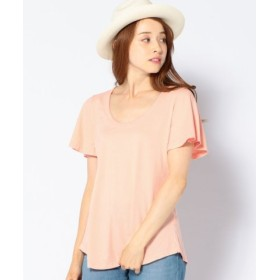 (SHIPS/シップス)CAL. Berries: WIND CHASER TEE/レディース ピンク