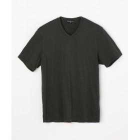 (TOMORROWLAND/トゥモローランド)リュクス ジャージーVネックTシャツ MELJ3248/メンズ 59ダークグリーン