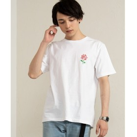 [マルイ]【セール】ローズワンポイントTシャツ/ウィゴー(メンズ)(WEGO)