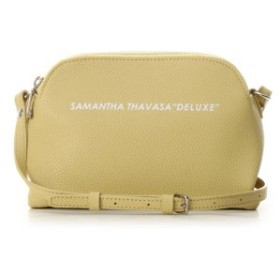 (Samantha Thavasa Deluxe/サマンサタバサデラックス)ロゴバッグ 小/レディース イエロー 送料無料