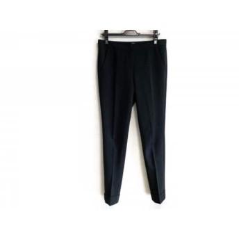 【中古】 アルマーニコレッツォーニ ARMANICOLLEZIONI パンツ サイズ38 S レディース 黒