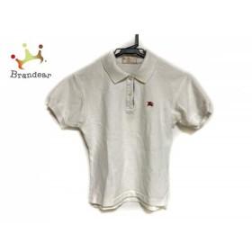 バーバリーズ Burberry's 半袖ポロシャツ サイズL レディース 白×パープル×レッド×マルチ   スペシャル特価 20190829