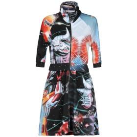 《セール開催中》MOSCHINO レディース ミニワンピース&ドレス ブラック 40 100% コットン