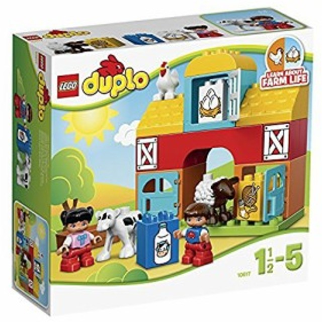 レゴ (LEGO) デュプロ はじめてのレゴ (LEGO) デュプロ ぼくじょう 10617(未使用品)