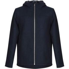 《セール開催中》RVLT/REVOLUTION メンズ コート ダークブルー S ウール 50% / ポリエステル 50%