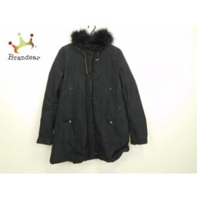 パオラ フラーニ PAOLA FRANI コート サイズ42 M レディース 美品 黒 ファー/冬物 新着 20190509【人気】