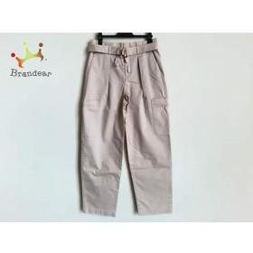ダブルスタンダードクロージング パンツ サイズ25 XS レディース 美品 ピンクベージュ     スペシャル特価 20191117