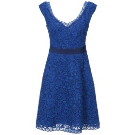 《期間限定セール中》LIU JO レディース ミニワンピース&ドレス ブルー 40 コットン 67% / ナイロン 19% / レーヨン 14%