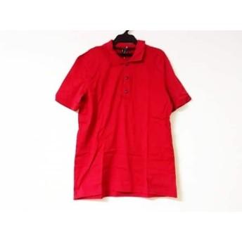 【中古】 ルイヴィトン LOUIS VUITTON 半袖ポロシャツ サイズS メンズ レッド