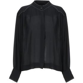 《期間限定 セール開催中》MOTEL レディース シャツ ブラック S ポリエステル 100%