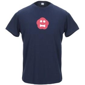 《期間限定 セール開催中》ASPESI メンズ T シャツ ダークブルー S コットン 100%