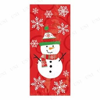 【取寄品】 ラージセロバッグ スノーマン 20枚入 クリスマスパーティー パーティーグッズ 雑貨 おもちゃ 玩具 プレゼント 景品 子供会 お