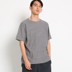 [マルイ]【セール】【洗える】ミニパイル刺しゅうTシャツ/ドレステリア(メンズ)(DRESSTERIOR Mens)