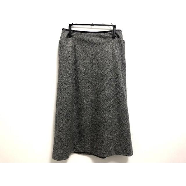 【中古】 バーバリーロンドン Burberry LONDON スカート サイズ38 L レディース 黒 アイボリー