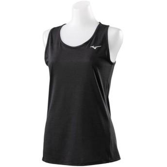 MIZUNO SHOP [ミズノ公式オンラインショップ] グラフィックノースリーブシャツ[レディース] 09 ブラック J2MA9206