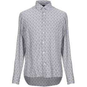 《期間限定 セール開催中》DOMENICO TAGLIENTE メンズ シャツ ホワイト 40 レーヨン 85% / ウール 15%