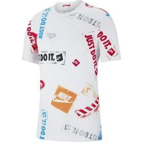 (セール)NIKE(ナイキ)メンズスポーツウェア 半袖シャツ ナイキ リミックス 5 Tシャツ BQ0327-100 メンズ ホワイト