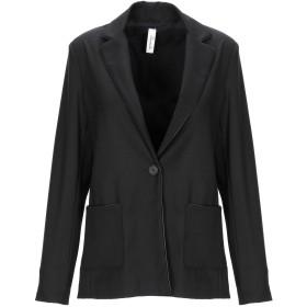 《期間限定 セール開催中》SOUVENIR レディース テーラードジャケット ブラック S ポリエステル 62% / レーヨン 35% / ポリウレタン 3%