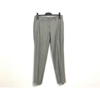 【中古】 セオリー theory パンツ サイズ2 S レディース 美品 グレー