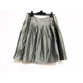 【中古】 アンテプリマ ANTEPRIMA スカート サイズ40 M レディース グレー
