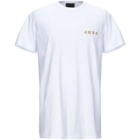 《期間限定セール開催中!》.AMEN. メンズ T シャツ ホワイト L コットン 100% / ポリウレタン / 金属 / レーヨン