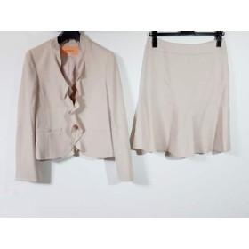 【中古】 スーナウーナ SunaUna スカートスーツ サイズ38 M レディース ベージュ