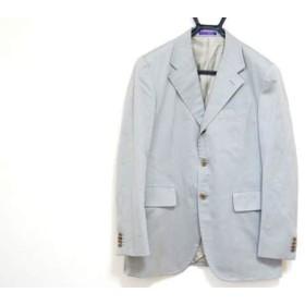 【中古】 ポールスミス PaulSmith ジャケット サイズL メンズ ライトカーキ COLLECTION