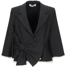 《期間限定セール開催中!》MARTA STUDIO レディース テーラードジャケット ブラック 44 コットン 97% / ポリウレタン 3%