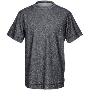 《9/20まで! 限定セール開催中》LIBERTINE-LIBERTINE メンズ T シャツ ダークブルー L コットン 47% / ポリエステル 47% / ポリウレタン 6%
