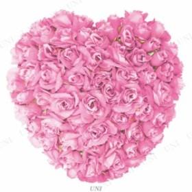 【取寄品】 ディスプレイ バレンタイン 23cmローズデコレーションハート ピンク パーティーグッズ パーティー用品 イベント用品 ウェディ