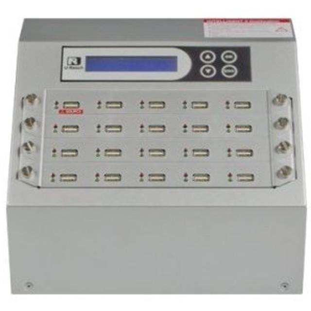 【在庫目安:お取り寄せ】U-Reach Japan 20ポート USBデュプリケータ Intelligent 9 Silver UB920S 1:19のコピーおよび最大19個のUS…