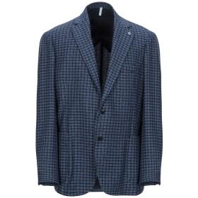 《期間限定セール開催中!》DOMENICO TAGLIENTE メンズ テーラードジャケット ダークブルー 48 ウール 60% / ポリエステル 35% / ナイロン 5%