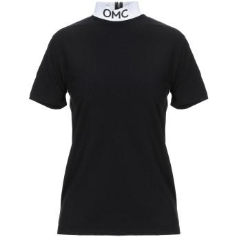 《セール開催中》OMC レディース T シャツ ブラック L コットン 100%