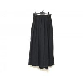 【中古】 ミズイロインド mizuiro ind パンツ サイズ2 M レディース ダークグレー