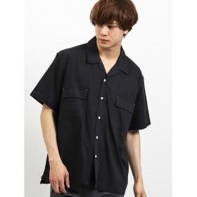 [マルイ]【セール】ポケット付きオープンカラー半袖シャツ/セマンティックデザイン(semantic design)