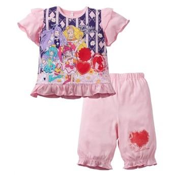 【プリキュア】カラチェンパジャマ(女の子 子供服) キッズパジャマ