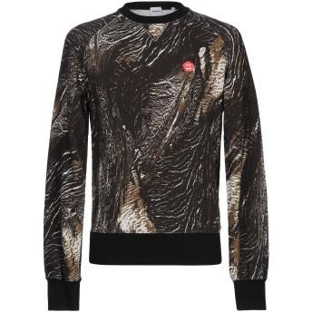 《期間限定セール開催中!》ASPESI メンズ スウェットシャツ ブラック L コットン 100%