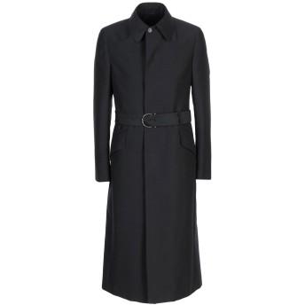 《期間限定セール開催中!》SALVATORE FERRAGAMO メンズ コート ブラック 48 モヘヤ 60% / ウール 40%