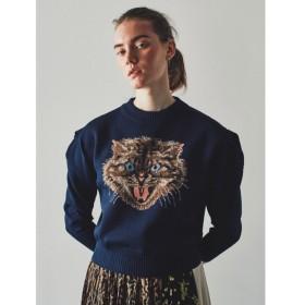 【ファーファー/FURFUR】 トリートキャットセーター