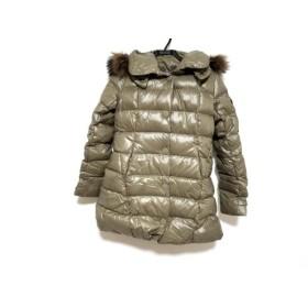 【中古】 タトラス TATRAS ダウンコート サイズ2 M レディース ウッチェリエラ LTA14A4294 ブラウン 冬物