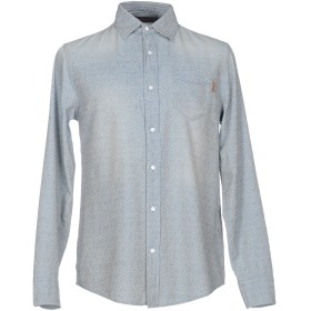 《期間限定セール開催中!》TRUSSARDI JEANS メンズ デニムシャツ ブルー 39 コットン 100%