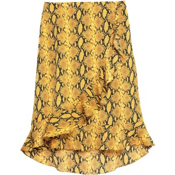 《セール開催中》GARCIA レディース 7分丈スカート オークル XS ポリエステル 100%