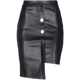 《期間限定セール中》OD OD レディース ひざ丈スカート ブラック S ポリウレタン 100%